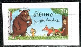 BRD - Mi 3452 Gestanzt - ** Postfrisch (H) - 70C     Der Grüffelo, Ausgabe 01.03.2019 - BRD