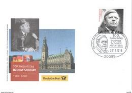 Geburtstag Helmut Schmidt - BRD