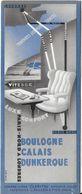 M-P MARQUE-PAGE SIGNET BOOKMARK PUBLICITÉ TOURISME VOYAGE BOULOGNE CALAIS LONDRES LUXE CONFORT VITESSE - Bookmarks