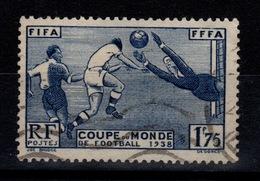 YV 396 Oblitere Coupe Du Monde De Football Cote 15 Euros - France