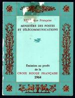 France Frankreich Carnets Croix-Rouge Rotkreuzheftchen Y&T Carnets CR 2013 Déf. - Markenheftchen