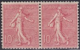 France  .   Yvert    .   129 Paire   .     **  .  Neuf  SANS  Charniere  .   /   .    MNH - Nuovi