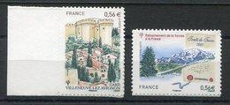 RC 11821 FRANCE N° 415 /416 TRAITÉ DE TURIN + FORT SAINT ANDRÉ AUTOADHÉSIFS COTE 8,00€ TB - France