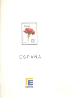 España - Suplemento EDIFIL Año 2006 - Montado Con Filaestuches Transparentes - 14 Hojas - Envio Gratuito A España - Pre-Impresas