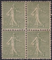 France  .   Yvert    .   130  Bloc De 4 .     **  .  Neuf  SANS  Charniere  .   /   .    MNH - Unused Stamps