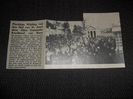 """Origineel Knipsel ( 2491 ) Uit Tijdschrift """" Ons Volk """"  1934 :  Louvain  Leuven - Old Paper"""