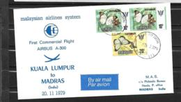 1979 - 38 - Airbus A 300 - Kuala Lumpar Madras - Airplanes