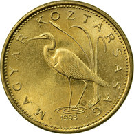 Monnaie, Hongrie, 5 Forint, 1993, Budapest, TTB, Nickel-brass, KM:694 - Hongrie