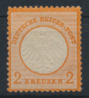 Deutsches Reich Brustschild 15 Luxus Ungebraucht Originalgummi Falzrest 50,00 - Unclassified