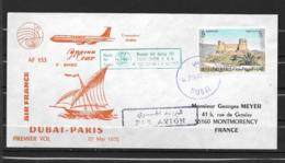1975 - 23 - Boeing 707 - Dubaï Paris - Airplanes