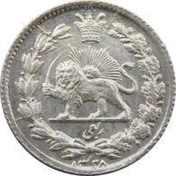 Ahmad Shah Qajar Silver Robi (1/4 Kran) - Iran