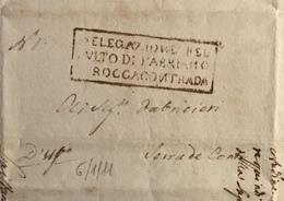 1811 ROCCACONTRADA -FABRIANO PER SERRADE CONTI - Italy