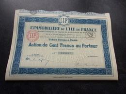 L'immobilière De L'ile De France (1897) - Non Classés