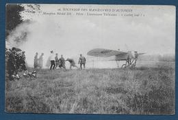 """Souvenir Des Manoeuvres D' Automne -  Monoplan Blériot 211 - Pilote: Lt Trétarre - """" Lachez Tout """" - Aviateurs"""