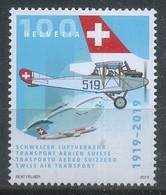 Switzerland 2019 Swiss Air Transport, Aviation - Airplanes