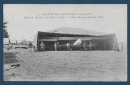"""Souvenir Des Manoeuvres D' Automne -  Biplan H. Farmann """" Le Ville De Vichy """"- Pilote: Brigadier Peltier D' Oisy - Aviateurs"""