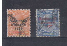Irland Michel Cat.No. Used 28/29I - 1922 Provisional Government