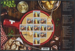 Switzerland 2018 Gastronomy, Food, Cheese, Fondue - Alimentazione