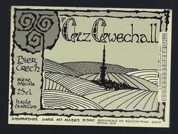 étiquette Bière France: Bièrecezz Cewechall Brasserie Castelain Bénifontaine - Bière