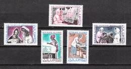 Mauritania -1967.Donne Al Lavoro. Tessili,ricamatrici,infermiere,lavandaie,sarte.Textiles, Embroiderers, Nurses, ...MNH - Altri