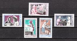 Mauritania -1967.Donne Al Lavoro. Tessili,ricamatrici,infermiere,lavandaie,sarte.Textiles, Embroiderers, Nurses, ...MNH - Professioni