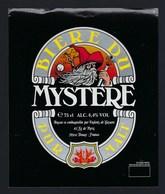 étiquette Bière France: Bière  Du Mystère  6,4% 75 Cl  Brasserie Les Enfants De Gayant Douai Nord 59 - Bière