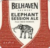BELHAVEN BREWERY (DUNBAR, SCOTLAND) - ELEPHANT SESSION ALE - PUMP CLIP FRONT - Enseignes