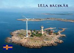 Aland Islands Lilla Båtskär Island Nyhamn Lighthouse New Postcard AK - Finland