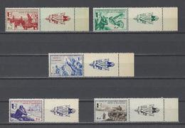 FRANCE  YT  L.V.F. N° 6/9  Neuf **  1942 - Guerres