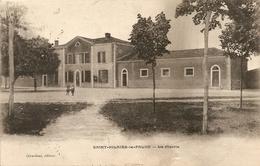 Cpa St Hilaire La Palud La Mairie - Other Municipalities