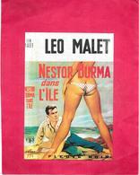 ILLUSTRATEUR GOURDON - NESTOR BURMA Par LEO  MALET - Tirage Limité N°543/1000  - BES1 - - Gourdon