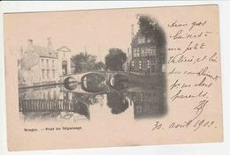 Bruges - Pont Du Beguinage - Brugge