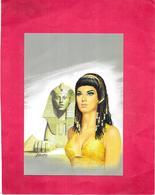 ILLUSTRATEUR GOURDON - Couverture De L'Espionne Des Pharaons - Tirage Limité   - BES1 - - Gourdon