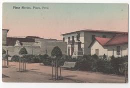 Plaza Merino Piura Peru Vintage Postcard South America - Pérou