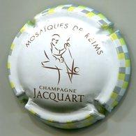 CAPSULE-CHAMPAGNE JACQUART N°26 Mosaiques De Reims  2 Cercles Mosaïques 3 Couleurs Sur Contour - Jacquart