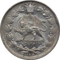 Nasser Aldin Shah Qajar Silver 2000 Dinar - Iran