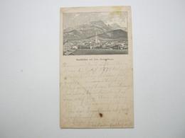 Saalfelden Am Steinernen Meer ,  Schöne Karte Um 1889, Vorläufer - Österreich