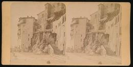 VILLEFRANCHE SUR MER  - PHOTO STEREOCARTE 17.5 X 8.5 CM    - VOIR 2 SCANS - Villefranche-sur-Mer