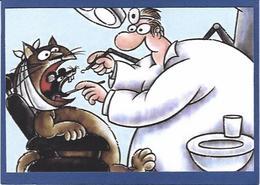CPM Dentiste Dentist Dent Dentistry Dental Non Circulé Chat Cat Souris Mouse - Santé