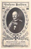 Generalstabschef Von Moltke Feldpost 1915 - Personnages