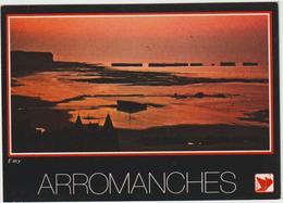 DAV : Calvados : ARROMANCHES  : Vue D E   Nuit - Arromanches