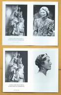 2 Faire-part - Grande Duchesse De Luxembourg - Overlijden