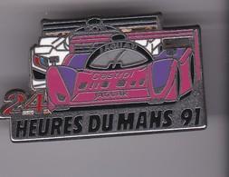 Pin's  JAGUAR 24 HEURES DU MANS 91 - Jaguar