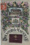 SOUVENIR DE MARSEILLE   CARTE SYSTEME ANNEE 1912 PETITE POCHETE AVEC LES VUES - Andere