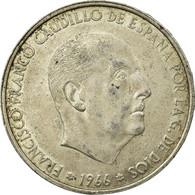 Monnaie, Espagne, Caudillo And Regent, 100 Pesetas, 1966, TTB, Argent, KM:797 - [ 5] 1949-… : Kingdom