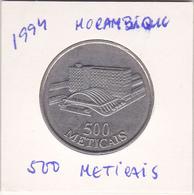 Moçambique - Republica De Moçambique -500 Meticais -1994 - Mozambique