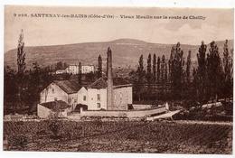 Santenay Les Bains : Vieux Moulin Sur La Route De Cheilly (Ets C. Lardier, Besançon, CLB N°9996) - France