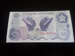 Yugoslavia 50 Dinara 1990 UNC -  AA  Series - Yougoslavie
