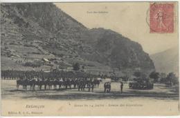 CPA Chasseurs Alpins Dept 05 BRIANCON (revue 14 Juillet) - Briancon