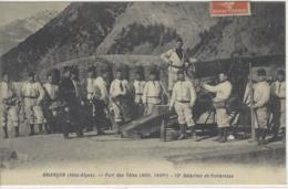 CPA Chasseurs Alpins Dept 05 BRIANCON - Briancon